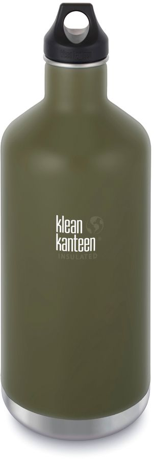 Olive Classic 64-Oz. Insulated Stainless Steel Water Bottle