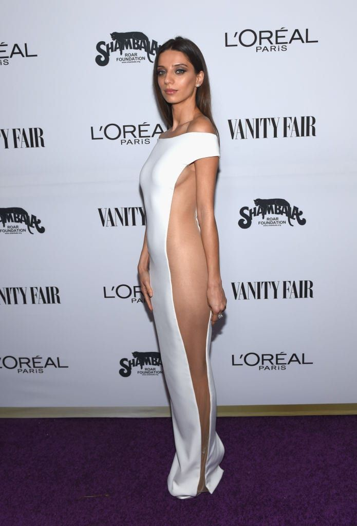 Most Shocking Red Carpet Dresses Ever Ynetnews Angela Sarafyan Revealing Dresses Celebrity Dresses