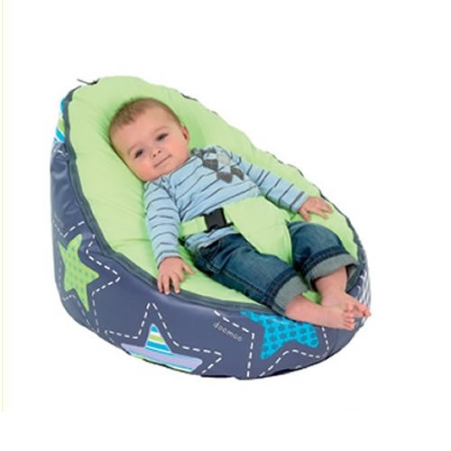 Doomoo Seat - Patchwork Lime | Best Beanbag Chairs.. Got 2 love it!