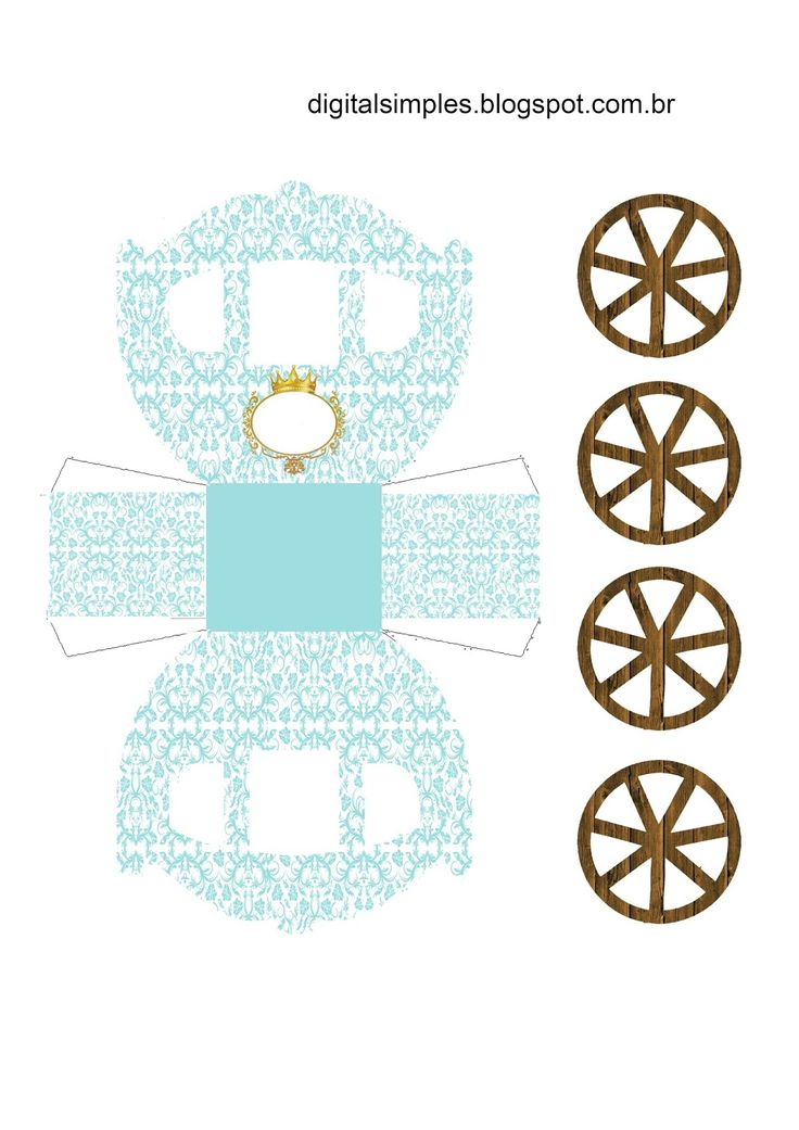 golden-crown-in-light-blue-free-printable-carriage-shapped-box.jpg (1131×1600)