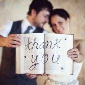 Les remerciements de mariage