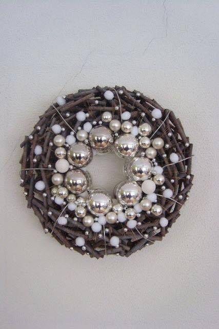 Karácsonyi dekorációs ötletek... nekem nagyon bejön ez a színvilág!