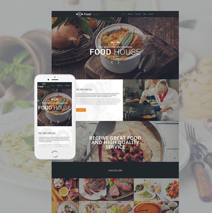 Html recipe template top 20 html5 restaurant website templates 2017 27 best images about food website templates on pinterest seafood forumfinder Images