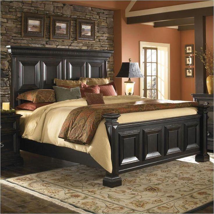 993180 Pulaski Furniture Brookfield Eastern King Panel Bed