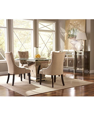 Marais Dining Room Furniture Table Chairs Buffet Mirrored Macys