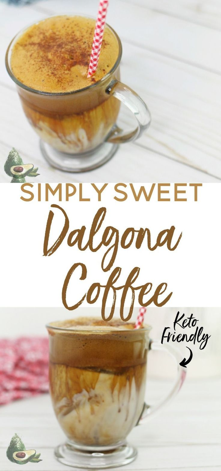 Dalgona Coffee Keto Whipped Coffee Recipe in 2020