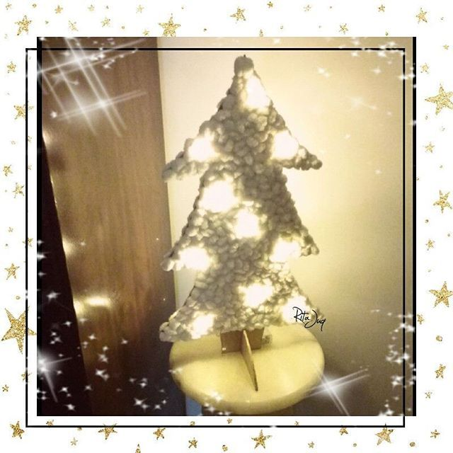 Good morning everyone! Sharing a night time 📷 of this little fluffy #chritmastree I made this year for the entrance hall😄❤🌲🎅🌲❤😄 #diy : Wooden board(~0,5cm thick) or cardboard➕#pompomyarn balls➕#christmaslights➕ hot glue gun➕glue for the hot glue gun😂 #crafts #doordecor #christmasdecor #christmasdecorations #christmas #christmascrafts #christmasdiy #xmas #xmascrafts