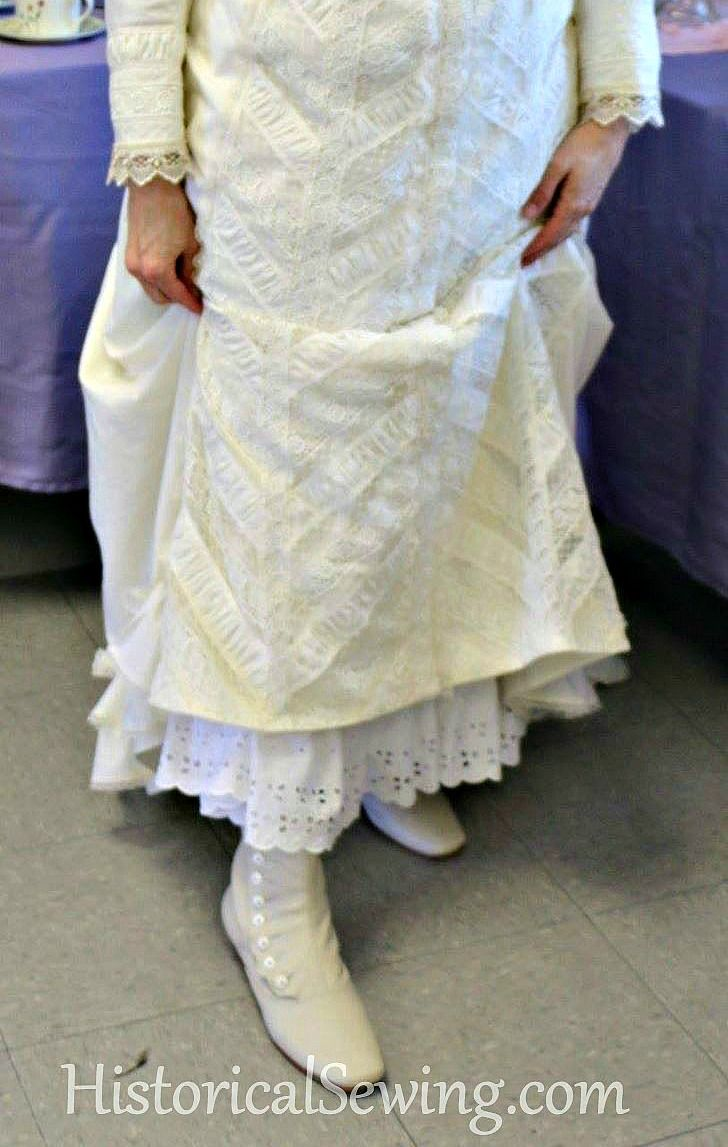 Petticoat Lengths & Widths | HistoricalSewing.com