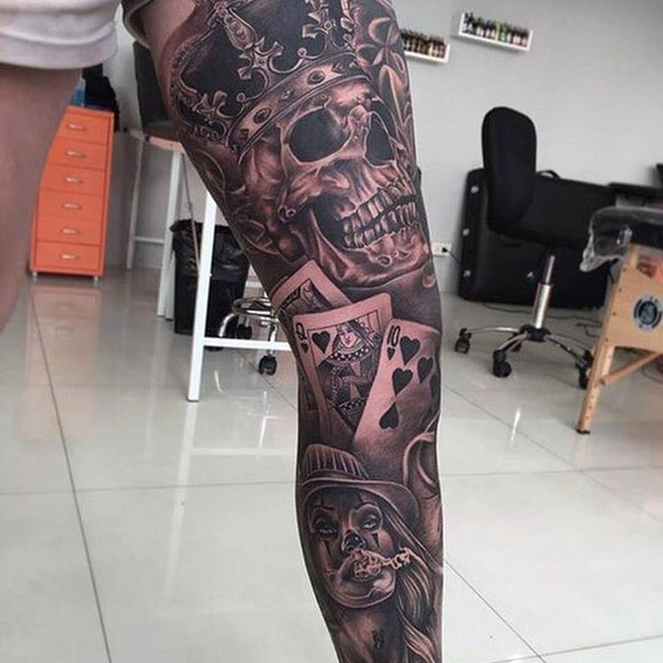 Amazing leg piece