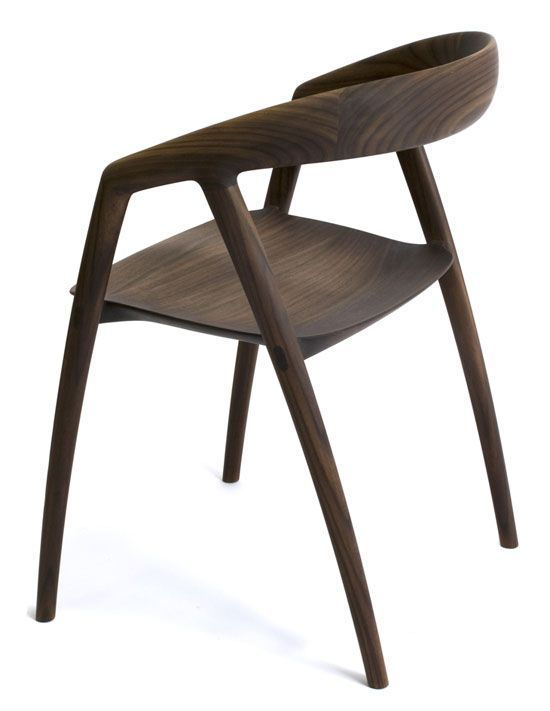 inoda + sveje: DC09 dining chair: another view from this beautiful chair
