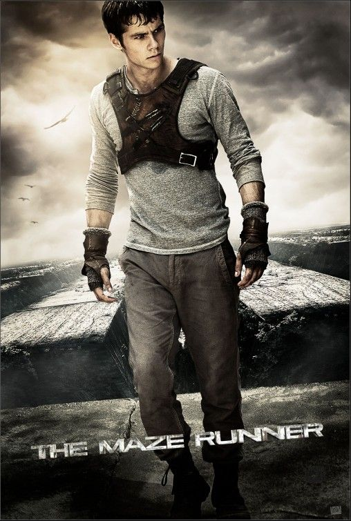 The Maze Runner Movie Poster, not sure how I feel about Dylan O'Brien being in this...