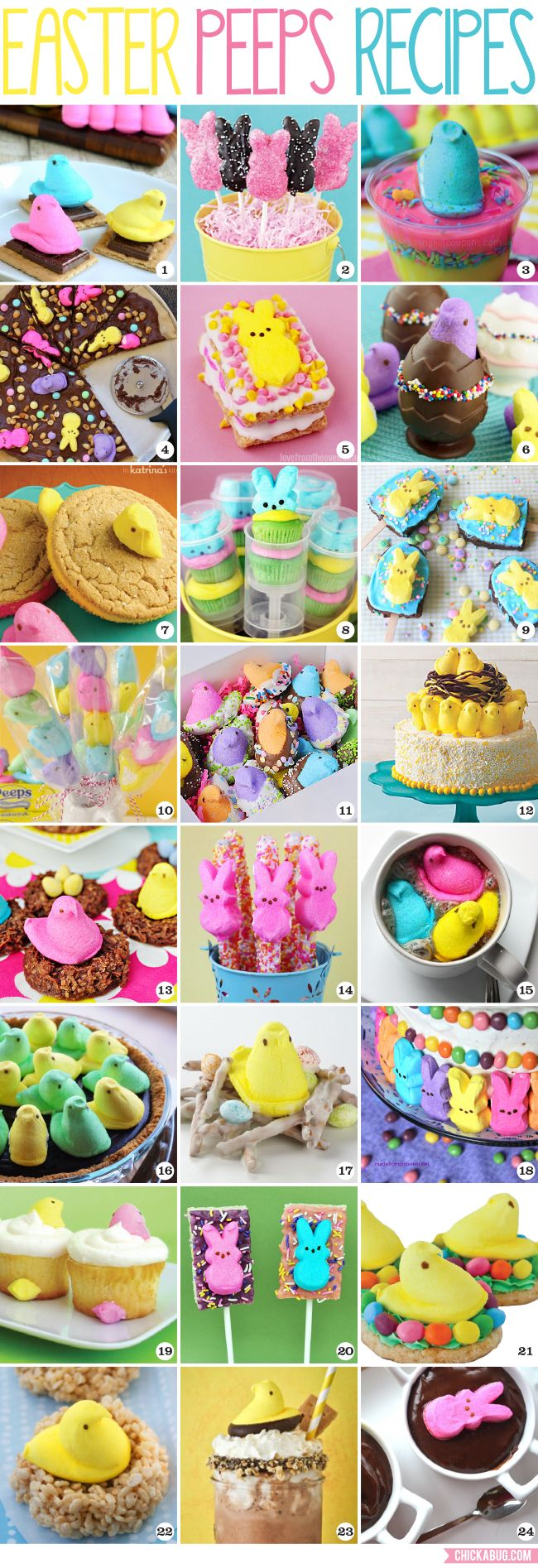 The Best Easter Peeps Recipes | Chickabug
