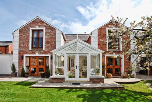 Classical Brick Conservatory