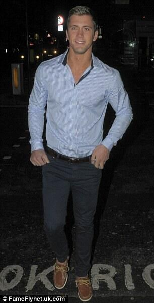 Dan Osborne. He couldn't be anymore perfect. LOOK AT HIS BOAT SHOES