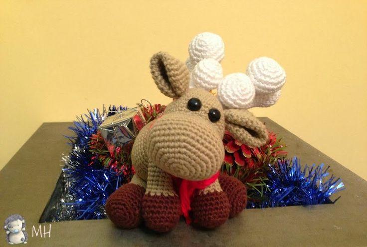 Amigurumi Heft : MADRES HIPERACTIVAS: Reindeer Amigurumi Crochet ...