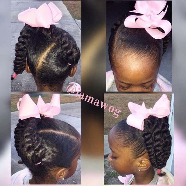 Black Little Girls Hairstyles 447 Best Kids Hairstyle Images On Pinterest  Black Girls Hairstyles