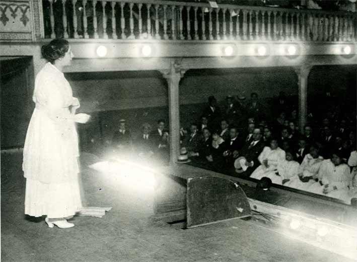 María Jesús Alvarado Rivera: Una feminista a ultranza