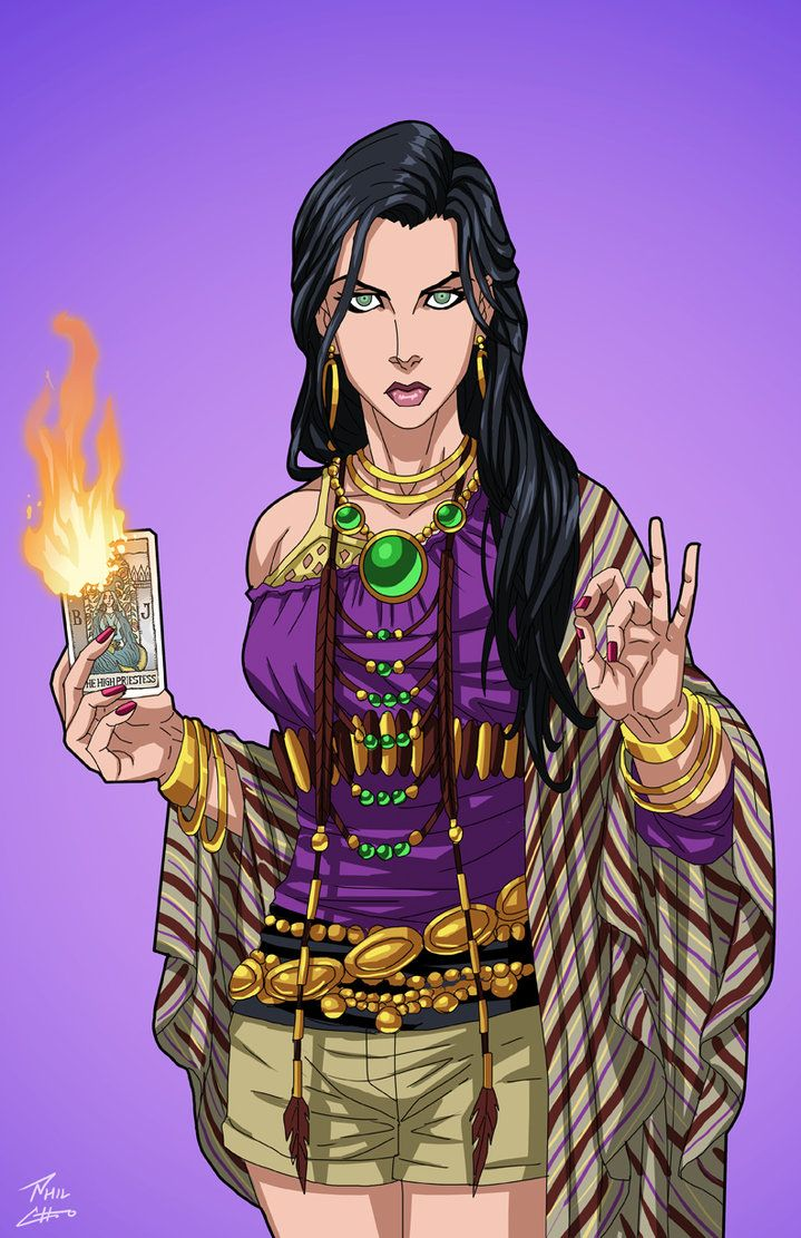 """Madame Xanadu"" sponsored by amethystangel228, Alexander514, and an anonymous backer for Roysovitch's Earth-27.Concept/Design by Roy Westerman Character Owned by DC ComicsFB page fo..."