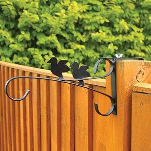 ADD On Set of 2 Fence Hanging Basket Brackets Set of 2 Adjustable Brackets for just £6.99 - thats Half Price Buy any pair of Pre-Planted Hanging Baskets and this set of 2 adjustable fence hanging basket brackets for just £6.99 (normally £13.98) - http://www.MightGet.com/january-2017-12/add-on-set-of-2-fence-hanging-basket-brackets.asp