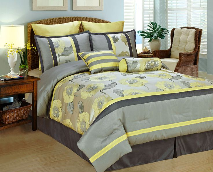 Best 25+ Yellow Comforter Ideas On Pinterest