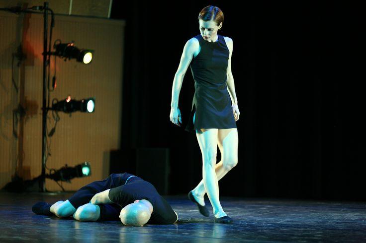 Tessa Victoria and Robert Sher-Machherndl in performance at Chautauqua Summer Series.