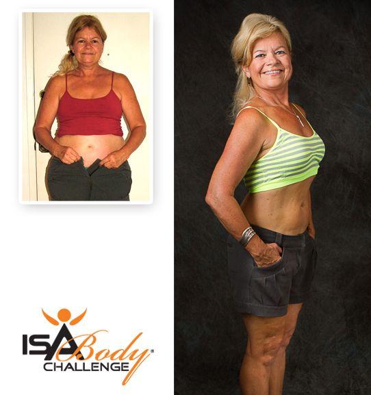 Isagenix Before & After - Carol G. #weightloss