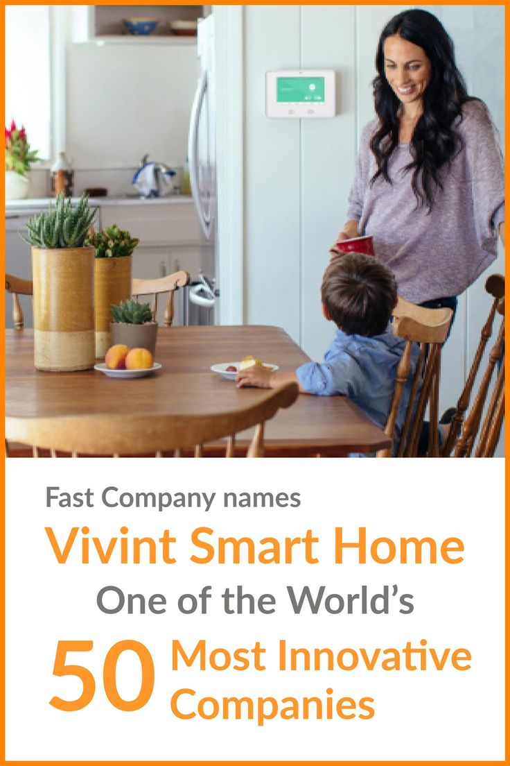 Vivint Smart Home, the leading smart home services provider in North America, announced its inclusion in Fast Company's annual ranking of the World's 50 Most Innovative Companies for 2017.
