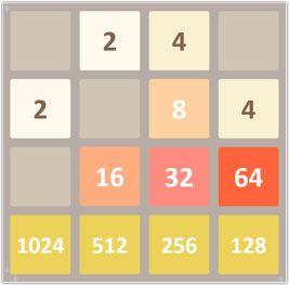 2048 game in Excel!