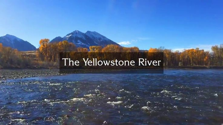 Video: Fall On The Yellowstone River, Near Emigrant Peak