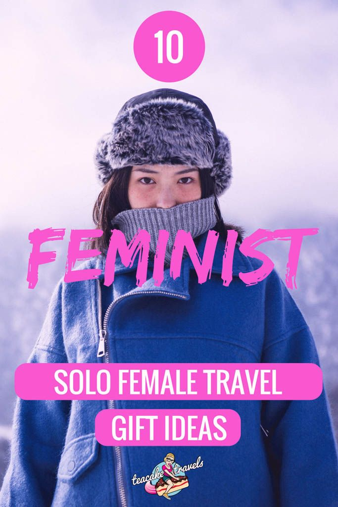 Looking for feminist travel christmas gifts for solo female travelers? Travel gifts for friends who travel can be a little difficult to find. Here are the latest feminist AF useful travel gifts to give to the warrior women in your life!