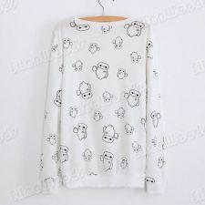 New Women Blouse Sweater Lady Casual Long Sleeves Fashion  Cotton Korean T-Shirt