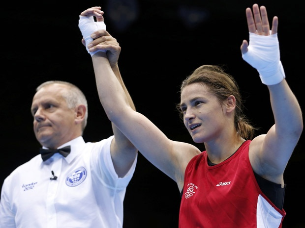 http://www.MilitaryGradeNutritionals.com/blog  Olympic boxer Katie Taylor giving Ireland a reason to celebrate.