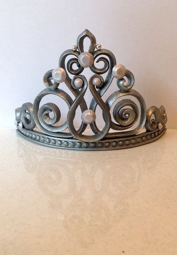 Princess crown tiara cake topper by LuluCupcakecom on Etsy, $39.95