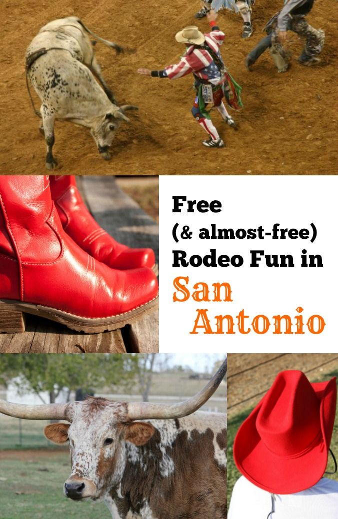 Free Amp Almost Free Rodeo Fun Family Vacations In Texas