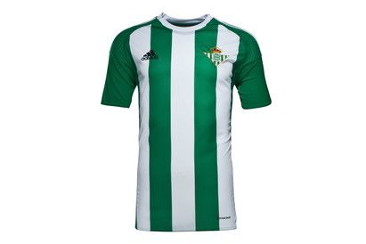 Adidas Real Betis 16/17 Home S/S Replica Football Shirt Show your pride and passion for Betis by supporting them with the Real Betis 16/17 Home S/S Replica Football Shirt, made by adidas and perfect for fans.This official short sleeved replica home shirt o http://www.MightGet.com/february-2017-2/adidas-real-betis-16-17-home-s-s-replica-football-shirt.asp