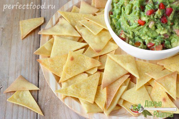 Чипсы начос - рецепт мексиканских чипсов