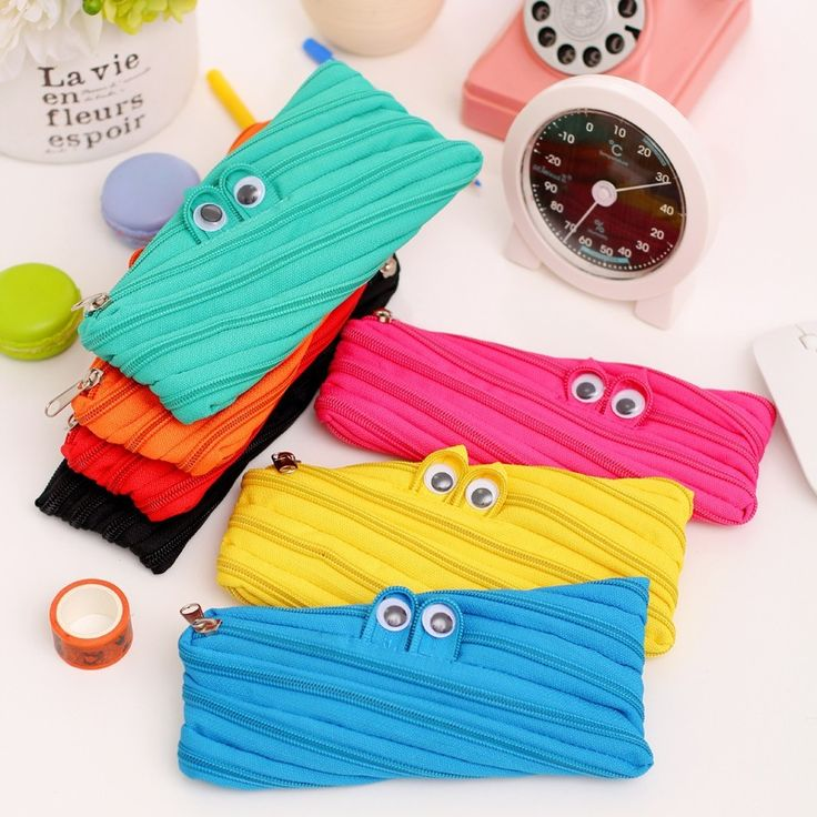 (1Pcs/Sell) Monster Creative Pencil Cases Bags Canvas Material School Supplies Bts Stationery Gift  School Cute Pencil #>=#>=#>=#>=#> Click on the pin to check out discount price, color, size, shipping, etc. Save and like it!