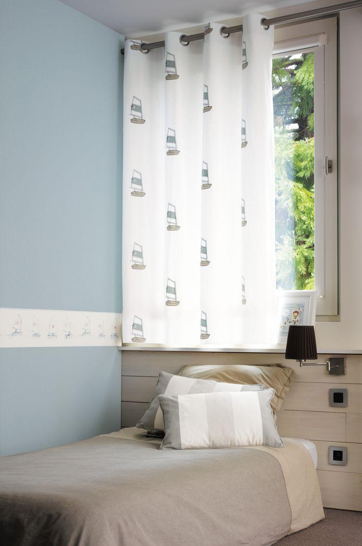 best 25 rideaux bateau ideas only on pinterest store. Black Bedroom Furniture Sets. Home Design Ideas