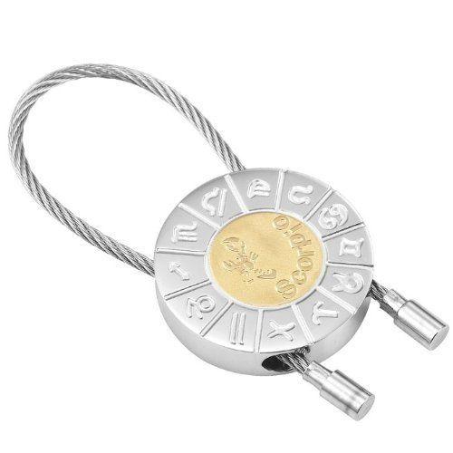 R&B Schmuck Unisex Schlüsselanhänger - Skorpion Sternzeichen (Silber, Gold): 12,90€