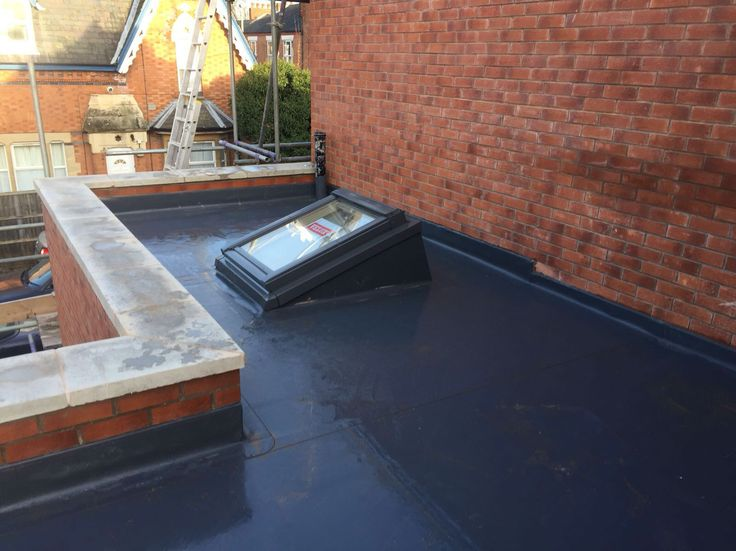 Single ply roofing with roof light on Pentecostal church in Leicester