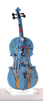 Paint a cheap violin off eBay. Summer project for sure