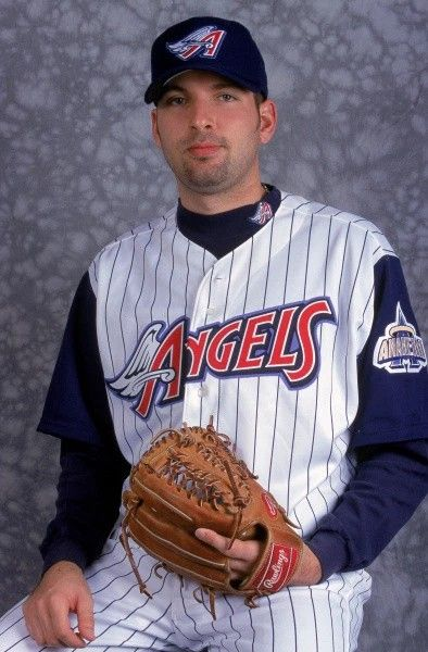 91f6d152495 Steve Green pitched in one game for the 2001 Angels.