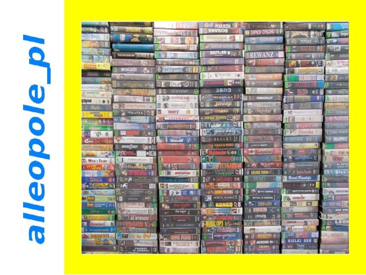 """VHS Kasety Video na sprzedaż - Wypożyczalnia Filmów DVD """"ALFA"""""""