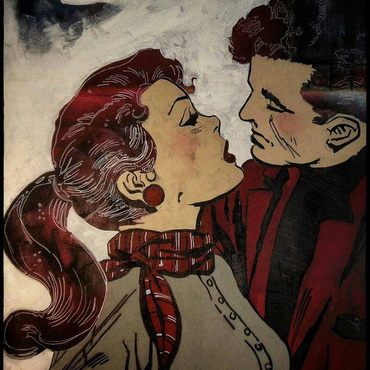 Vintage Comics 80cm x 100cm 2014/Balıkesir*Türkiye