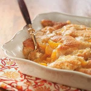 WEIGHT WATCHER EASY PEACH COBBLER - When the Dinner Bell Rings
