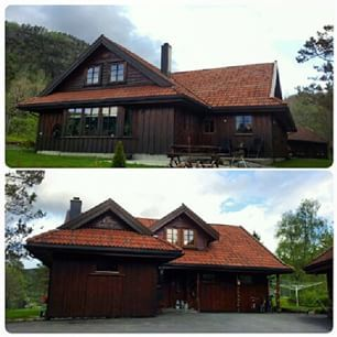 Huset vårt :)