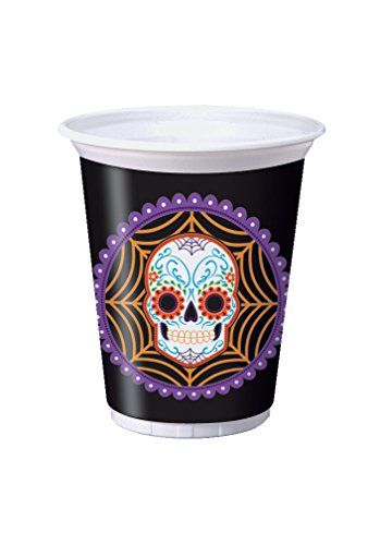 Creative Converting 8 Count Plastic Cups, 16 oz, Day of t... https://www.amazon.com/dp/B015DQQAZ4/ref=cm_sw_r_pi_dp_x_Kpy6xbACR7FDV