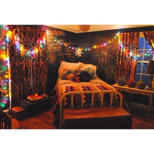 how to make a hippie room
