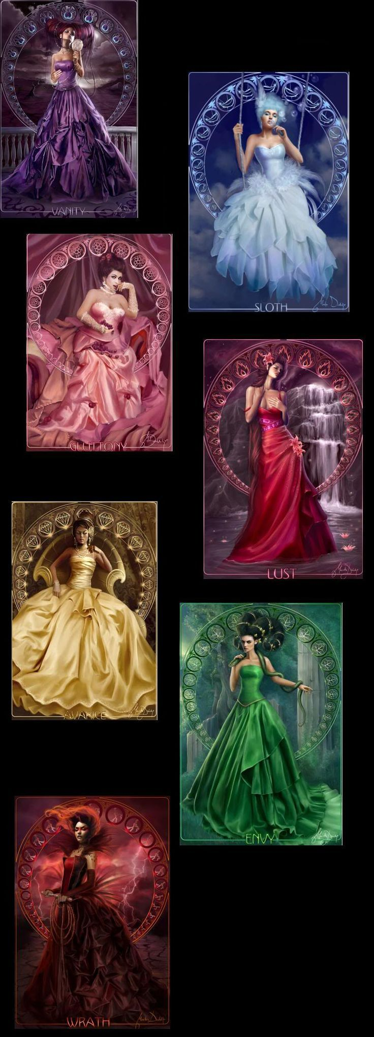 11 best Seven deadly sins and seven heavenly virtues ...