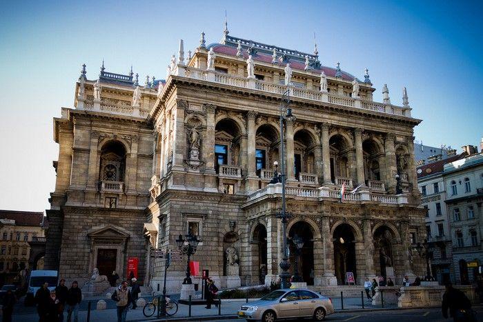 A Magyar Állami Operaház, Budapest egyik legszebb és legrégibb műemléke.